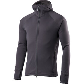 Houdini Power Houdi Jacket Herre blue grey clay